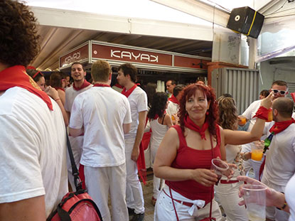 Bar Kayak en San Fermin